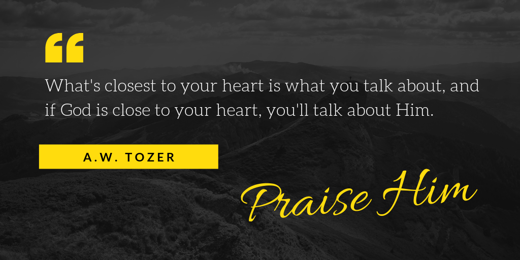 A.W. Tozer quote