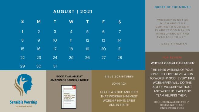 Praise and Worship Calendar